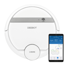 Bild zu Ecovacs Robotics Deebot 900 Saugroboter mit intelligenter Navigation, App- und Alexa-Steuerung für 299€ (Vergleich: 354,68€)