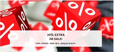 Bild zu Jeans-Direct: 20% Extra Rabatt auf bereits reduzierte Artikel (ab 40€ MBW)