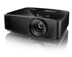 Bild zu [bis 14 Uhr] Optoma HD144X Full HD Beamer (3.400 Lumen, 23.000:1 Kontrast, 1.1x Zoom, 2x HDMI) für 369€ (Vergleich: 444,90€)