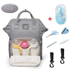 Bild zu Baby Wickelrucksack/Wickeltasche mit 2 Kinderwagenhaken für 15,60 inkl. Versand