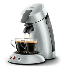 Bild zu PHILIPS Original Senseo HD6556/50 Kaffeepadmaschine für 38€ (Vergleich: 64,98€)