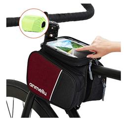 Bild zu Lixada Fahrrad Rahmentasche mit Handytasche und wasserdichtem Regenschutz für 6,49€