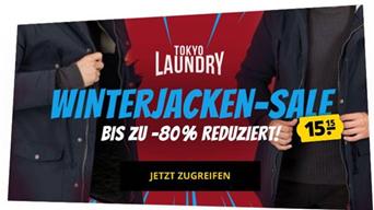 Bild zu [Super] SportSpar: Tokyo Laundry Winterjacken Sale – Jede Jacke/Weste nur 15,15€