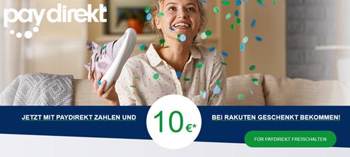Bild zu Rakuten: 10€ Gutschein mit 30€ Mindestbestellwert bei Zahlung per paydirekt, so z.B. Xiaomi MiBand 3 für 21,95€