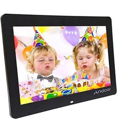Bild zu Andoer 14″Wide Screen HD LED Digitaler-Bilderrahmen (1200 x 800) mit Fernbedienung und MP3/MP4 Unterstützung ab 45,60€