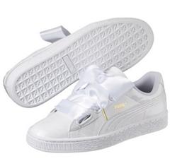 Bild zu Puma Basket Heart Patent Damen Sneaker für 27,93€ (Vergleich: 39,90€)
