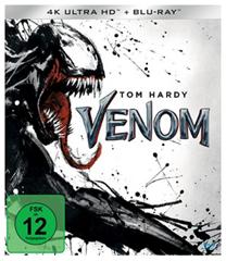 Bild zu Venom (4K Ultra HD) (+ Blu-ray 2D) für 23,79€ (Vergleich: 29,98€)