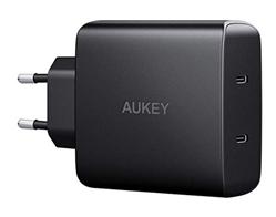 Bild zu AUKEY USB C 18W Schnellladegerät (2-Port mit Power Delivery 3.0) für 26,99€
