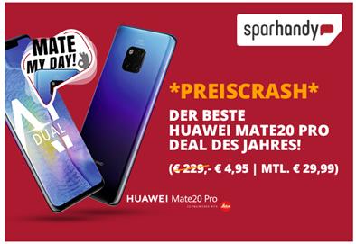 Bild zu [Hammer] Huawei Mate 20 Pro für 4,95€ (Vergleich: 669€) mit o2 Free M mit einer 10GB Datenflat usw. für 29,99€/Monat