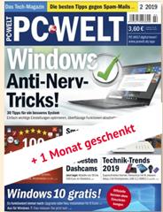 Bild zu 3 Monate (3 Ausgaben) PC Welt plus für 23,10€ + 23,10€ Scheck als Prämie