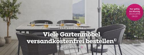 Bild zu Mömax: Kostenlose Lieferung auf das exklusive Gartenmöbel Online-Sortiment