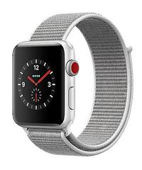 Bild zu Apple Watch Series 3 LTE 42mm Aluminiumgehäuse Silber für 284,95€ (Vergleich: 377,16€)