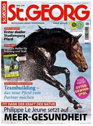 """Bild zu Pferdemagazin: 12 Ausgaben """"St. Georg"""" für 69,60€ + 60€ Amazon.de Gutschein als Prämie"""