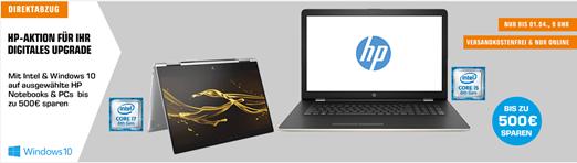 Bild zu Saturn: HP-Aktion – PCs & Notebooks mit bis zu 500€ Direktabzug