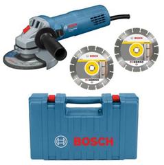 Bild zu Bosch Winkelschleifer GWS 880 Professional inkl. Koffer + 2 Diamant-Trennscheiben für 62,95€ (Vergleich: 70,84€)