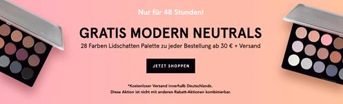Bild zu BH Cosmetics: 25% Rabatt auf (fast) alles + zusätzliches Geschenk sowie kostenlose Lieferung (ab 30€ Bestellwert)
