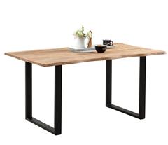 Bild zu Rustikaler Esstisch aus echtem Akazienholz ab 189€