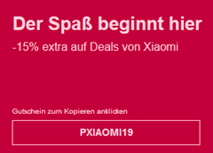 Bild zu [nur noch heute] eBay: 15% Rabatt auf ausgewählte Xiaomi Artikel