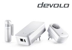 Bild zu devolo Home Control Sicherheit Starter Kit für 75,90€ (Vergleich: 134,99€)