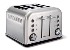 Bild zu MORPHY RICHARDS 242026 Accents Toaster Edelstahl gebürstet (1880 Watt, Schlitze: 4) für 62€ (Vergleich: 77,56€)