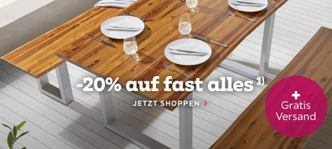Bild zu Mömax: 20% Rabatt auf fast ALLES + gratis Versand