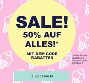 Bild zu [Super] 50% Rabatt auf Alles bei Eis.de