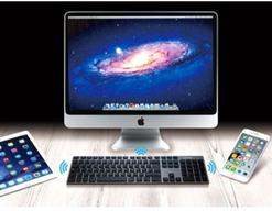 Bild zu Networx Pro Tastatur (Multi-Host für bis zu drei Apple Geräte, Bluetooth, spacegrau) für 39,99€ (Vergleich: 75,90€)