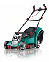 Bild zu Bosch Rotak 43 Elektro Rasenmäher (43cm, 1.800 Watt, 50L Grasfangkorb) für 199,99€ (Vergleich: 248,01€)