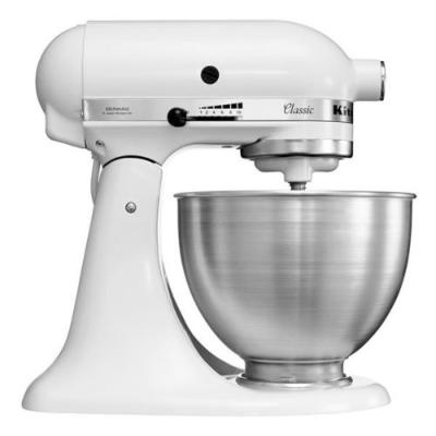 Bild zu KitchenAid Classic 5K45SSEWH Küchenmaschine 4,3L für 222€ inkl. Versand (Vergleich: 293,99€)