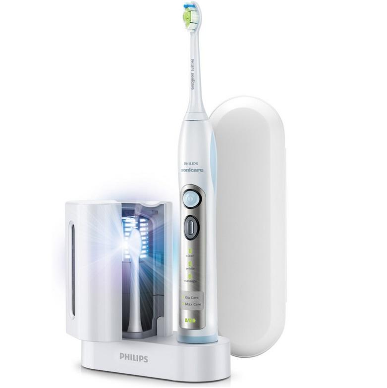 Bild zu Elektrische Zahnbürste Philips Sonicare Flexcare HX6971/33 für 95,90€ (Vergleich: 129,46€)