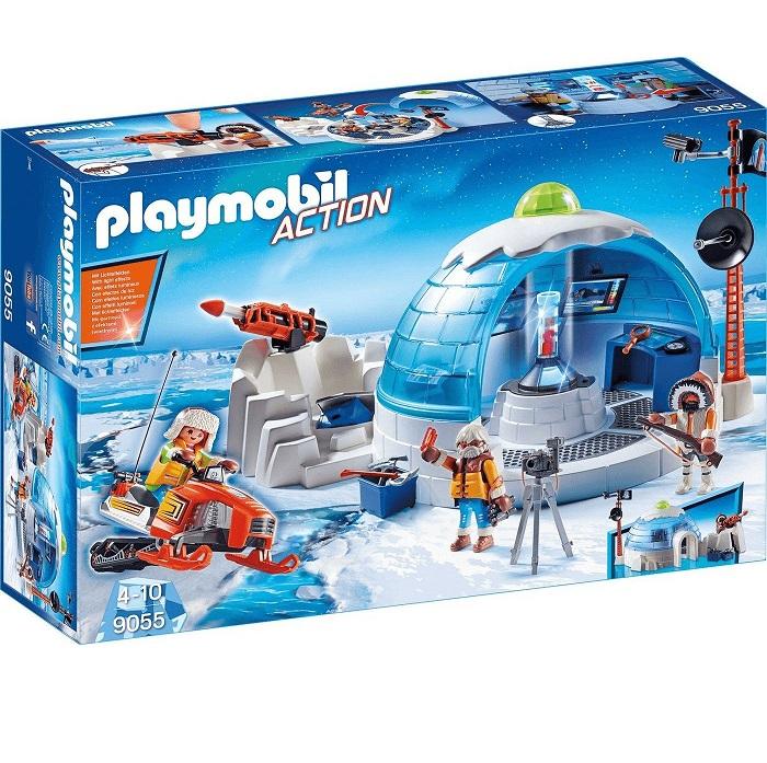 Bild zu Playmobil Action Polar Ranger Hauptquartier (9055) für 21,94€ (Vergleich: 29,95€)