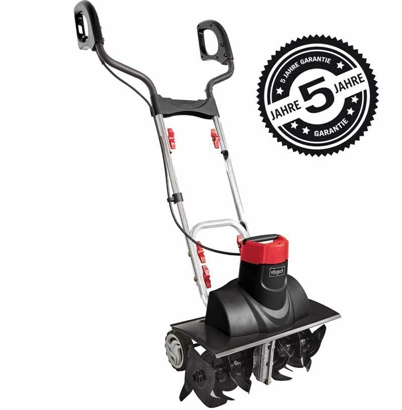 Bild zu Scheppach MTE450 Elektro Bodenfräse für 71,99€ (Vergleich: 109€)