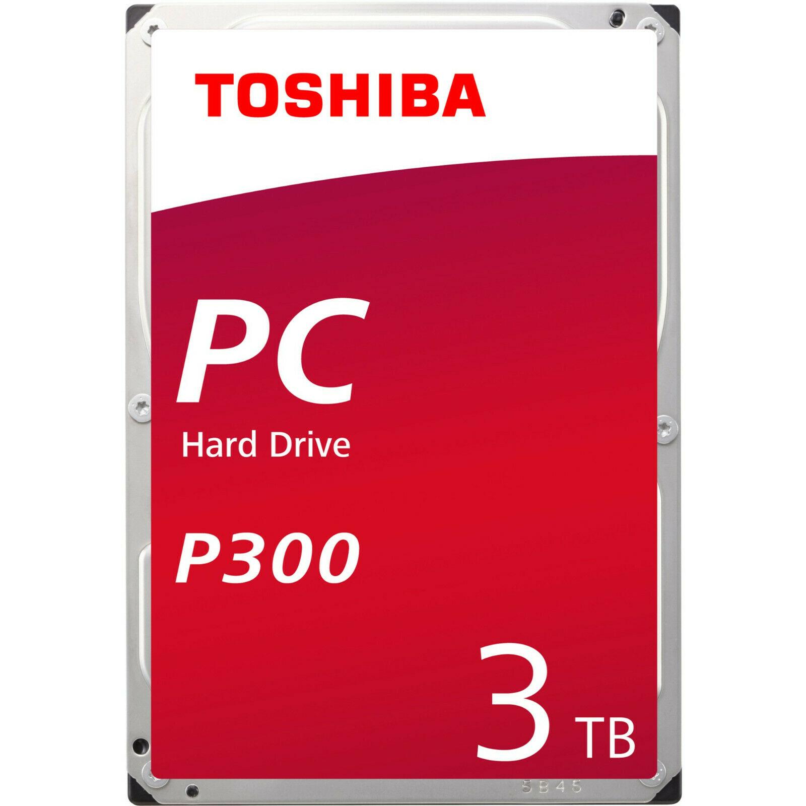 Bild zu 3,5 Zoll Festplatte Toshiba HDWD130UZSVA 3TB für 59,40€ (Vergleich: 69,64€)