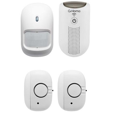 Bild zu G-Homa WiFi Mini-Alarm Kit Smart Home für 19,90€ (Vergleich: 33,28€)