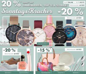 """bb0fbbc635 Unter dem Motto """"Sonntags-Kracher"""" hat der Karstadt Online-Shop heute ein  paar Angebote für euch parat."""