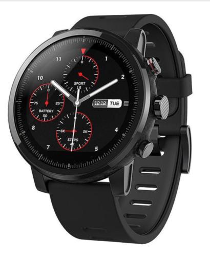 Bild zu Smartwatch Huami Amazfit Pace2 Stratos für 129,90€ (Vergleich: 159€)