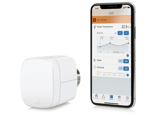 Bild zu [Refurbished] Elgato Eve Thermostat im Doppelpack für 75,90€ (Vergleich: 113,65€)