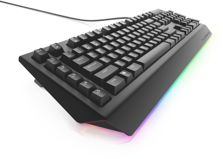 Bild zu Dell Alienware AW568 Advanced Gaming Tastatur für 49,90€ (Vergleich: 75,89€)