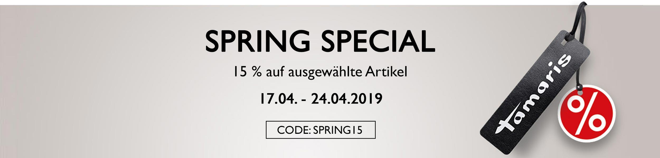 Bild zu Tamaris: 15% Rabatt auf ausgewählte Artikel im Spring Sale