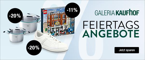 Bild zu Galeria Kaufhof Feiertags-Angebote, z.B. 11% Rabatt auf Lego Creator, Star Wars & Harry Potter
