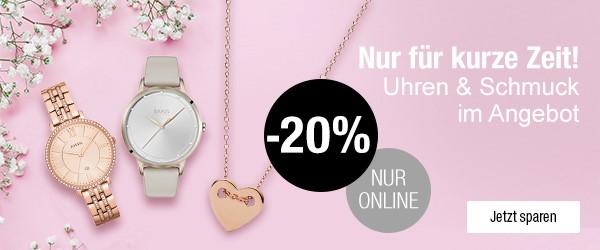 Bild zu Galeria Kaufhof: 20% Rabatt auf ausgewählte Uhren und Schmuck