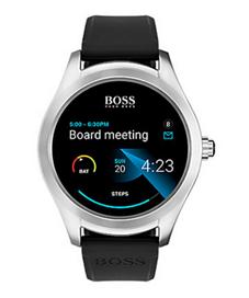 Bild zu Boss Smartwatch Touch 1513551 für 279,90€ (Vergleich: 399€)