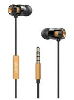 Bild zu AUKEY In-Ear-Kopfhörer kabelgebunden mit Mikrofon und Fernbedienung (3,5mm Klinkenstecker) für je 3,99€