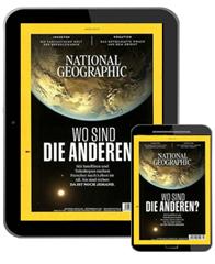 Bild zu 12 Monate NATIONAL GEOGRAPHIC E-Paper im Prämien-Abo dank 15€ Rabatt für 49,96€ + 50€ Prämie (z.B. Scheck)