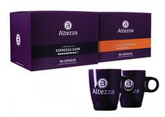 Bild zu Altezza Kapseln für Nespresso (192 Stück) + 2 originale Altezza Tassen für 29,99€