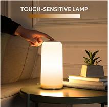 Bild zu AUKEY Nachttischlampe (mit Touchfunktion, dimmbar) für 25,99€