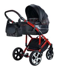 Bild zu knorr-baby Kinderwagen Volkswagen GTI schwarz-rot für 699,99€ (Vergleich: 865,48€)
