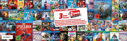 Bild zu MediaMarkt: 5 Spiele kaufen – Nur 3 Spiele zahlen