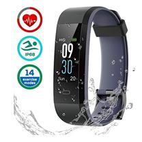 Bild zu LATEC Fitness Tracker (wasserdicht IP68, Pulsmesser, Schrittzähler, Schlafüberwachung) für 19,49€