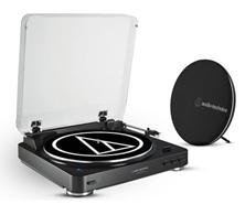 Bild zu Audio Technica Plattenspieler + Bluetooth-Lautsprecher AT-LP60SPBT für 135,90€ (Vergleich: 199€)